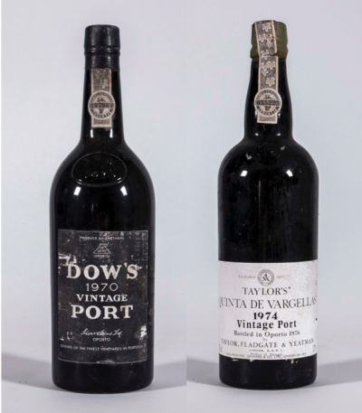 Port from the 1970s; Taylor's Quinta de Vargellas and Dow
