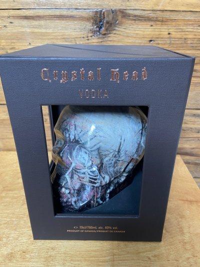 Crystal Head Vodka, limited edition. John Alexander