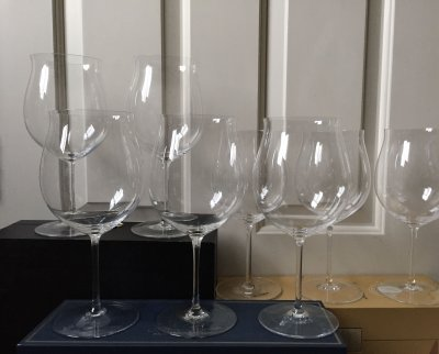 8 Riedel Sommeliers Burgundy glasses