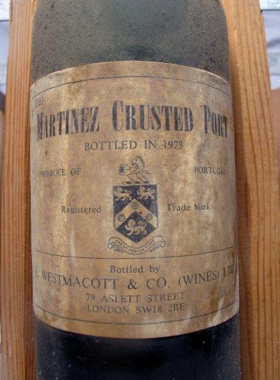 Martinez Crusted Port 1973