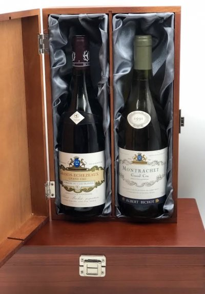 Montrachet Grand Cru 1991 / Grands-Echezeaux Grand Cru 1991  -  Albert Bichot