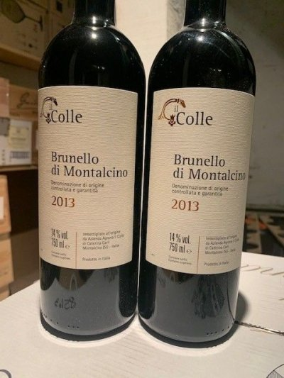 Il Colle Brunello Di Montalcino 96 points WE