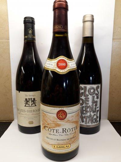 Special wines Rhône collection