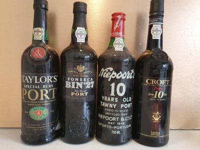 A quartet of fabulous ports