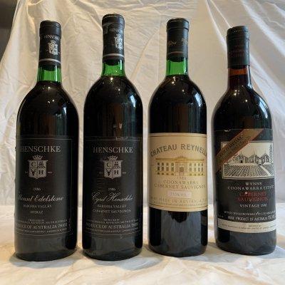 Luxury Australian wine collection x4