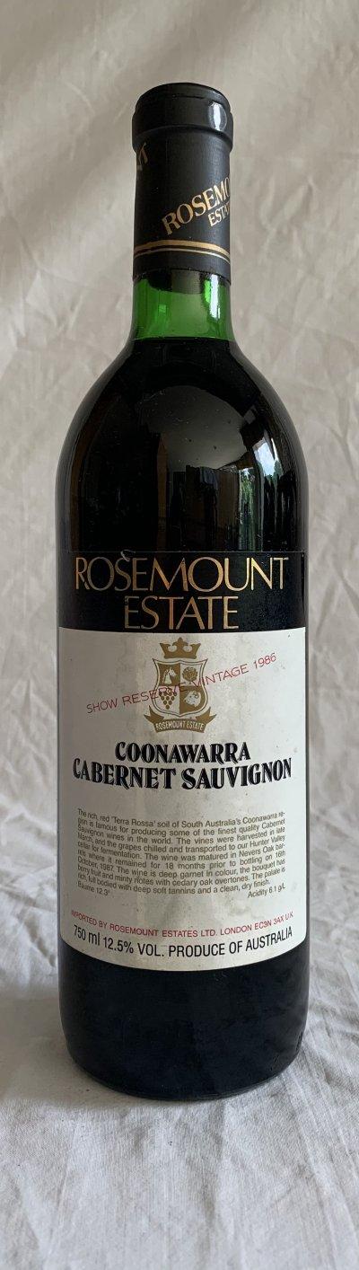 Rosemount estate Cabernet Sauvignon