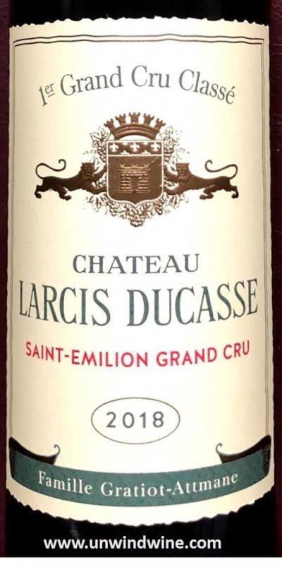 Chateau Larcis Ducasse Premier Grand Cru Classe B, Saint-Emilion Grand Cru