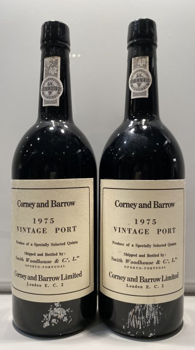 Smith Woodhouse vintage Port, Corney & Barrow bottling