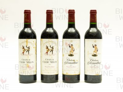 Pauillac Mixed Lot: Chateau Clerc Milon (2 bottles), Chateau d'Armailhac (2 bottles)