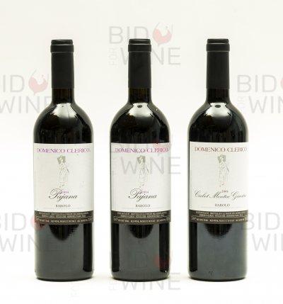 Domenico Clerico Mixed Lot: Barolo Pajana (2 bottles), Barolo Ciabot Mentin Ginestra (1 bottle)