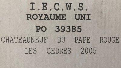 Chateauneuf-du-Pape les Cedres