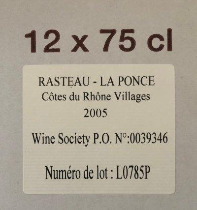 Rasteau La Ponce