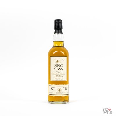 First Cask Speyside Malt 16 Years Old. Distilled at Craigellachie