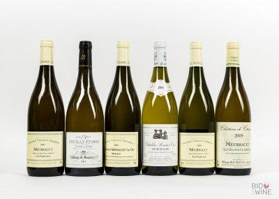 Top Flight White Burgundy Tasting Case