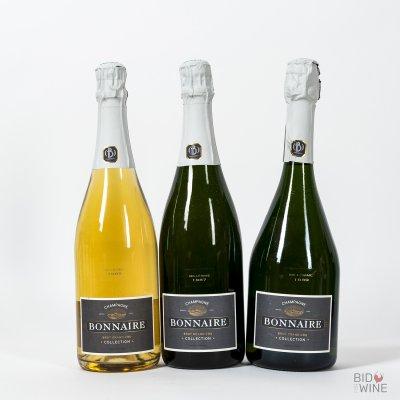 Bonnaire Champagne Tasting Lot