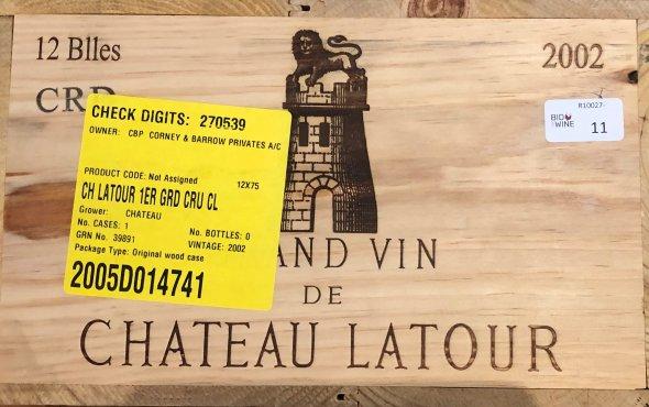 Chateau Latour, Bordeaux, Pauillac, 1er Grand Cru Classe