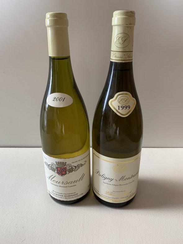 Etienne Sauzet, Puligny Montrachet 1999 & Boyer Martenot Meursault 2001