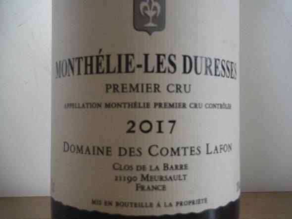 Comtes Lafon, Monthelie Duresses, Burgundy, Monthelie, France, AOC, 1er Cru