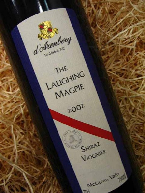 D Arenberg, Laughing Magpie Shiraz, South Australia, McLaren Vale, Australia