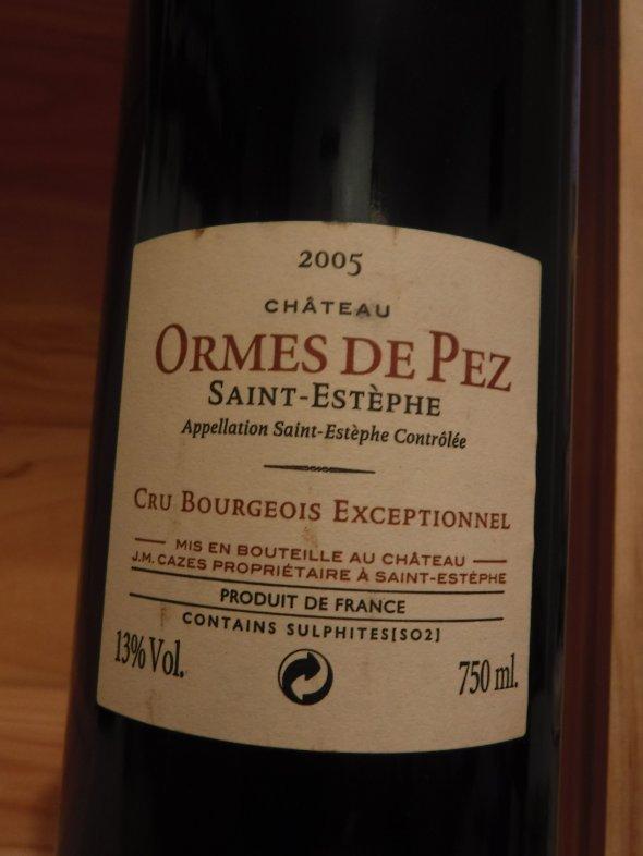 Ormes Pez, Bordeaux, Saint Estephe, France, AOC