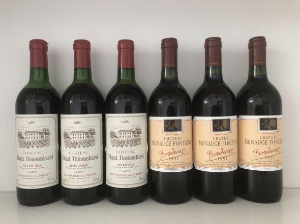 Various Mixed Bordeaux
