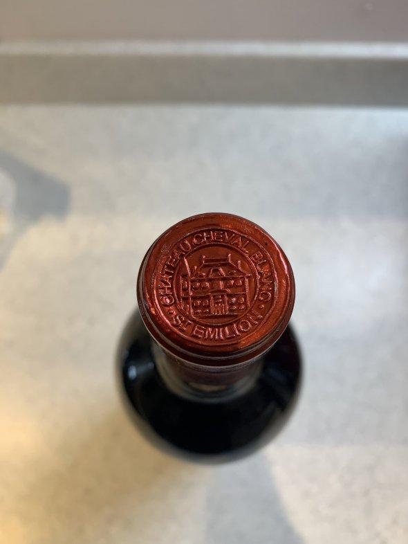 2008 Cheval Blanc, Bordeaux, Saint Emilion, France, AOC, 1er Grand Cru Classe Ad