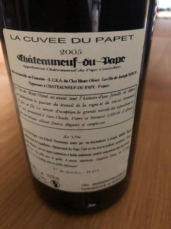 Clos Mont Olivet, Chateauneuf Du Pape Papet, Rhone, Chateauneuf du Pape, France, AOC
