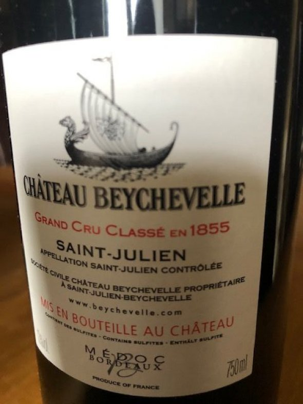 Beychevelle, Bordeaux, Saint Julien, France, AOC, 4eme Cru Classe