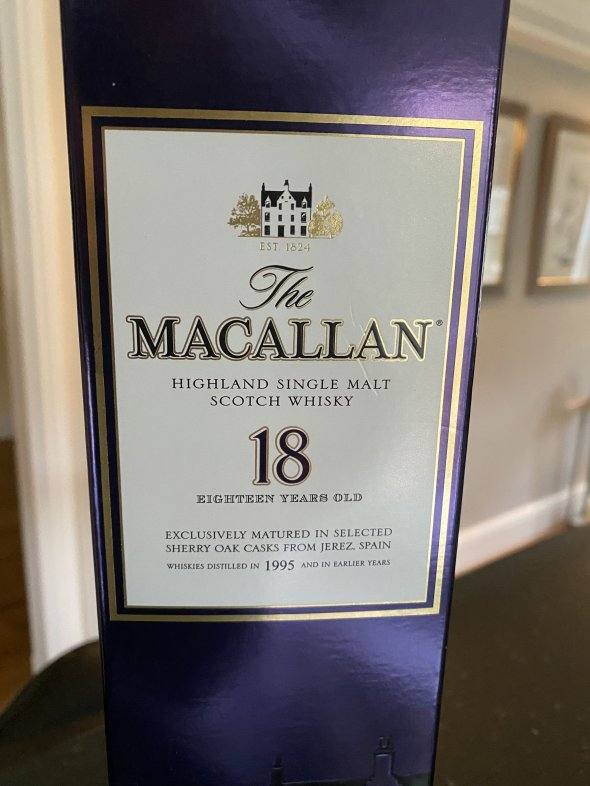 The Macallan 18 Year Old Sherry Cask 1995
