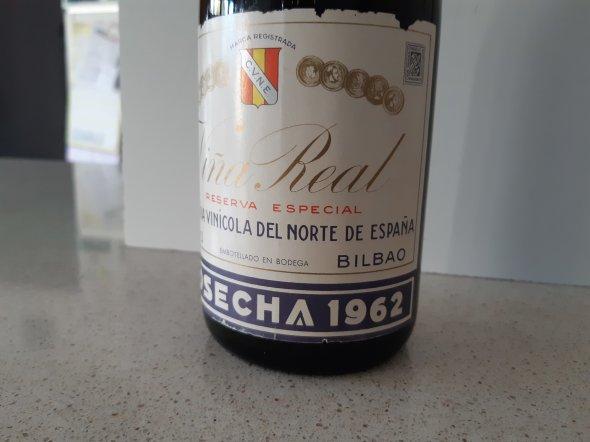 CVNE Vina Real 1962 Rioja Reserva Especial
