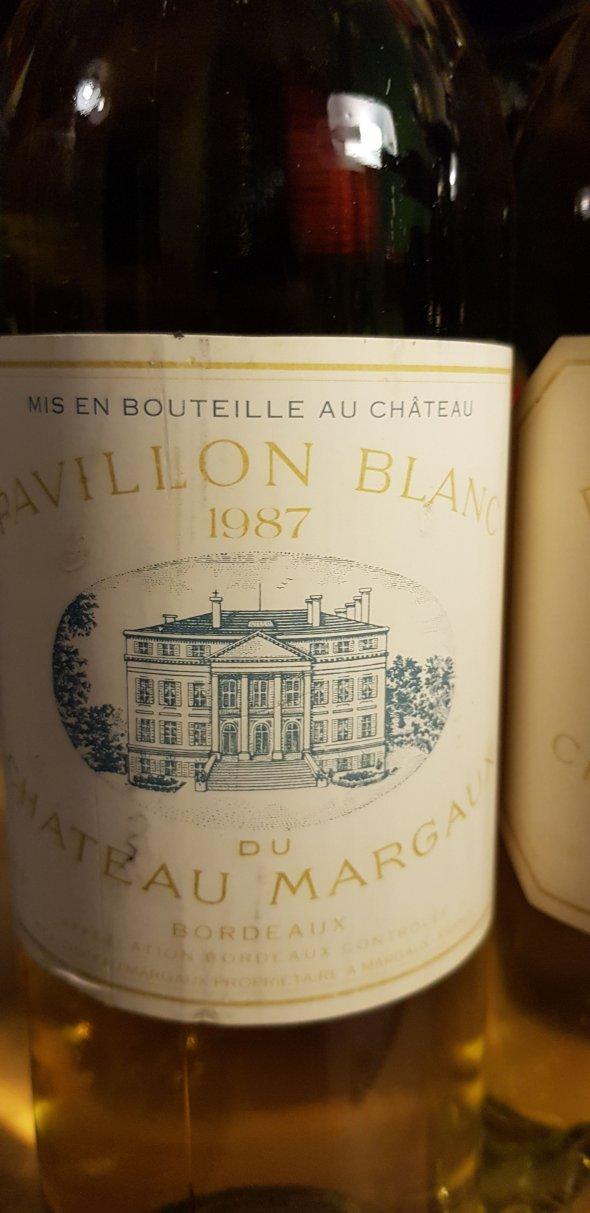 1987 Pavillon Blanc de Chateau Margaux