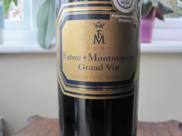 Grand Vin Mendoza 2007 Fabre Montmayou