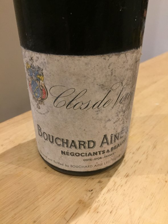 Clos de Vougeot - Bouchard Aine & Fils - 1961