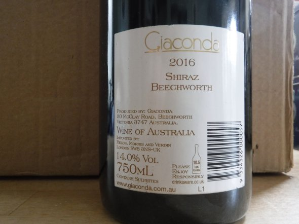 Giaconda, Beechworth Shiraz Estate Vineyard, Victoria, Beechworth, Australia