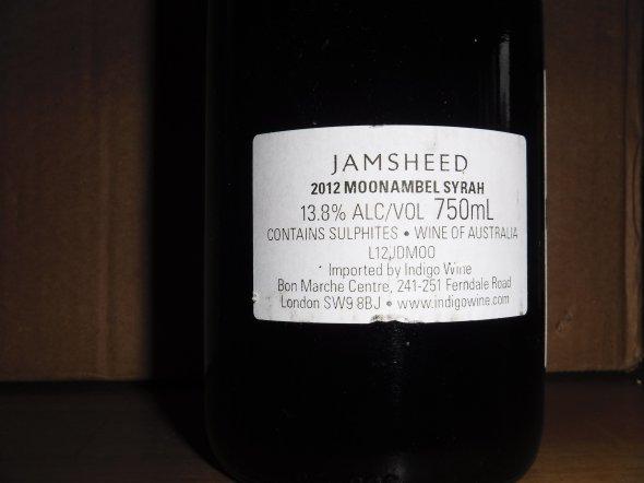 Jamsheed Moonambel Syrah, Pyrenees, Australia