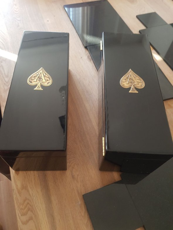 Armand de Brignac 750ml Duo Ace of Spades Rose and Gold , NV