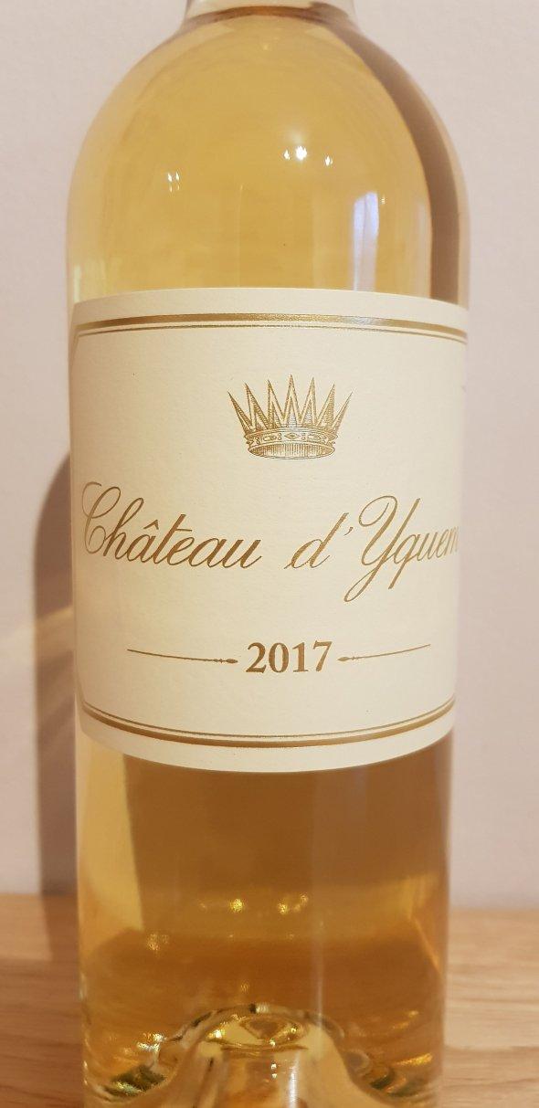 Chateau d'Yquem 2017