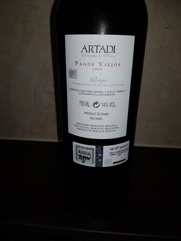 Artadi, Pagos Viejos, Rioja, Spain, DOC