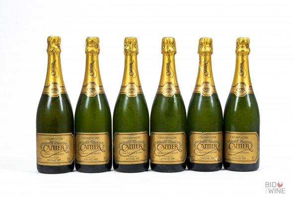 Cattier, Premier Cru Brut Millesime, Champagne, France, AOC