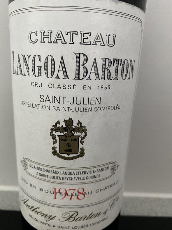 Chateau Langoa Barton 1978
