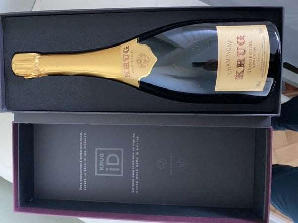 Krug, Grande Cuvee Edition 166, Champagne, France, AOC