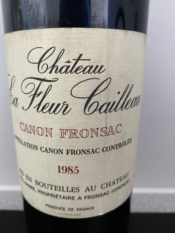Chateau La Fleur Cailleau 1985
