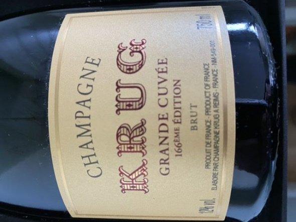 Krug, Brut, Champagne, France, 166 edt