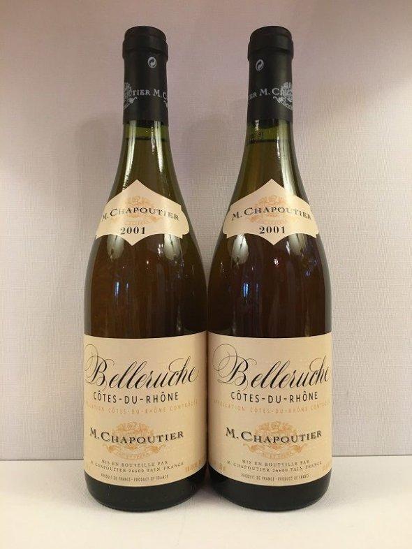 Chapoutier Belleruche Cote du Rhone blanc 2001