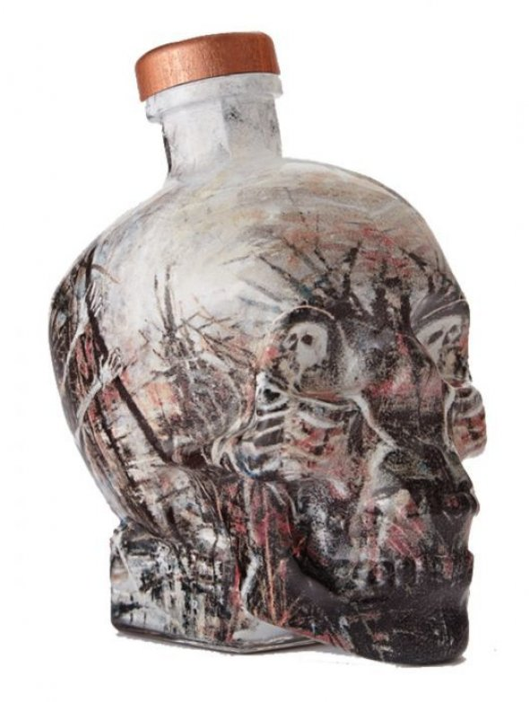 Crystal Head Vodka, limited edition. John Alexander