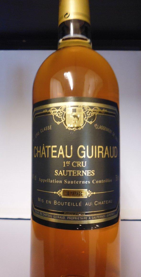 Chateau Guiraud 1998, Premier Grand Cru Classe