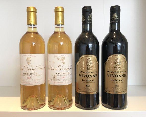 Doisy Daene, Bordeaux, Sauternes, France, AOC & Vivonne, Bandol, Provence, Bandol, France, AOC
