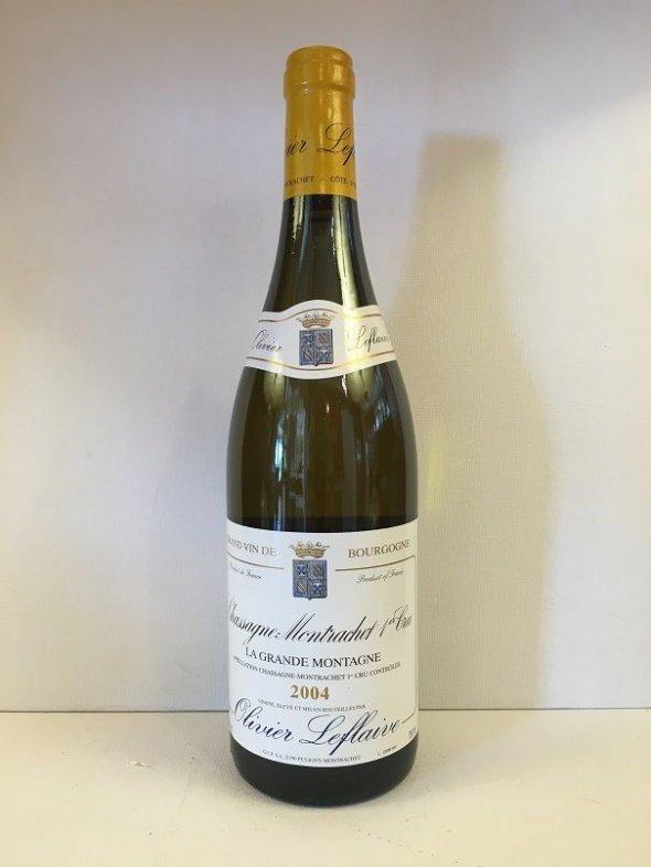 Olivier Leflaive, Chassagne Montrachet Grande Montagne, Burgundy, Chassagne Montrachet, France, AOC, 1er Cru