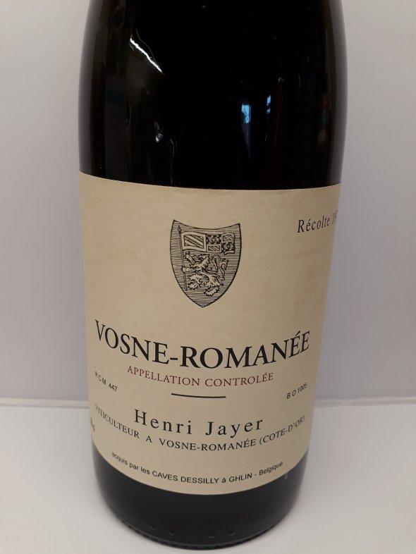 VOSNE-ROMANEE HENRI JAYER