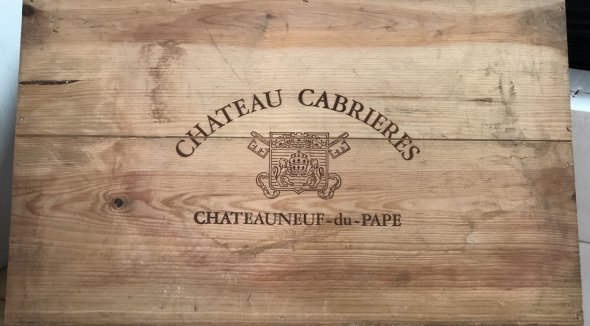 Chateau Cabrieres - Chateauneuf du Pape - Reserve 2000